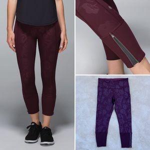 Lululemon | Rebel Runner Crop *Full-On Luxtreme